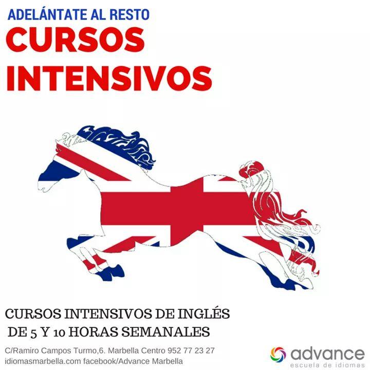 Cursos Intensivos de Inglés de 5 y 10 horas semanales
