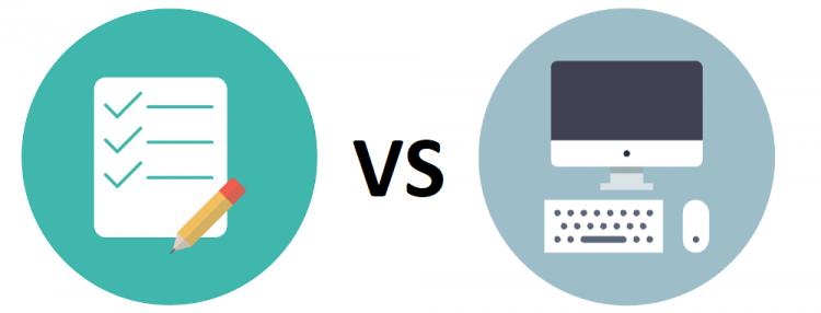 Paper based vs Computer Based