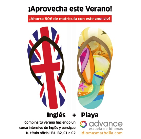 Aprovecha el verano y aprende inglés en Advance Marbella